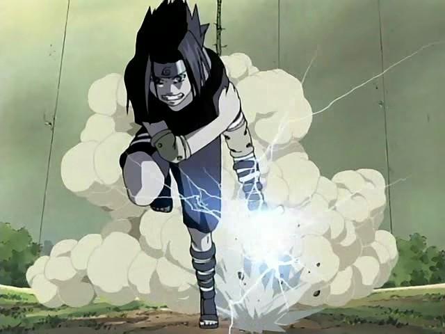 Chidori Sasuke Run